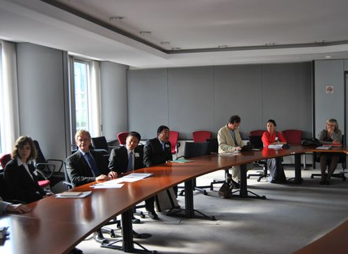 11.07.2012, The 93rd meeting of the Tibet Intergroup of the EP, Brussel.