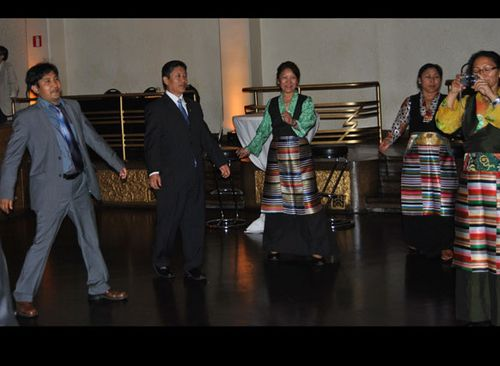 08.06.2012, The inspiring dance of the Tibetans.