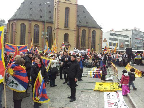 Kundgebung in Frankfurt am Main am 10.03.2012