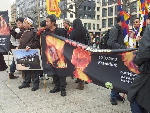 Demonstration in Frankfurt am Main am 10.03.2012