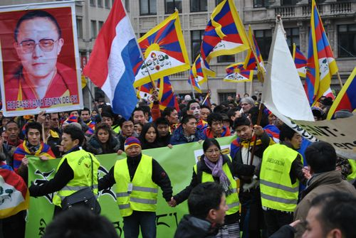 Demonstration in Brussels