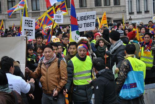 Demonstration in Brussels