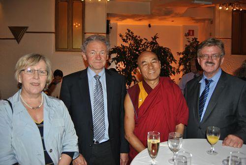 Feierlichkeiten zum 76. Geburtstag des Dalai Lama, Albert Hall in Brüssel